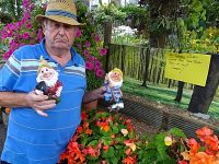 Villagers support devastated Wistaston pensioner after vandals destroy gnomes