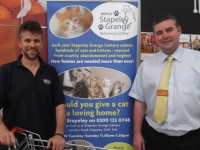 RSPCA Nantwich food donation centre set up by Sainsbury's