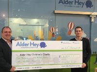 Crystal Legal staff donate £2,100 to Alder Hey Children's Charity