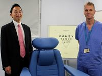 Leighton Hospital introduces pioneering cataracts surgery
