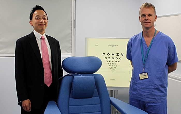 Leighton Hospital introduces pioneering cataract surgery
