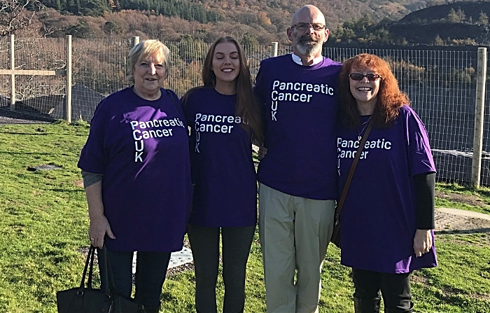 Leighton pancreatic cancer support group took on the World's Fastest Zipline 7