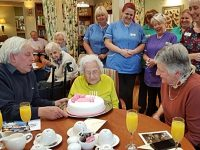 One of Nantwich's oldest residents celebrates 105th birthday at Richmond Village