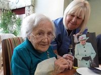 Nantwich resident celebrates 106th birthday with seventh card from the Queen