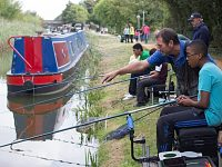 Families urged to sign up for fishing event in Nantwich