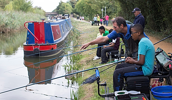 Let's Fish - free fishing event in nantwich