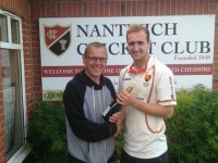 Nantwich CC star Liam Livingstone smashes 142 against Marple