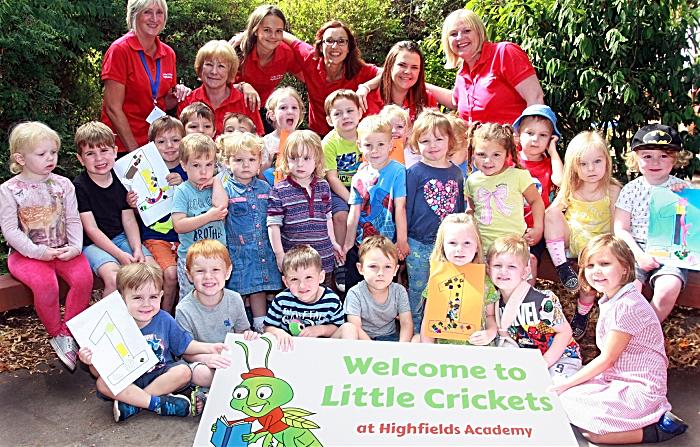 Little Crickets pre-school group in Nantwich