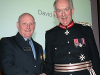 Nantwich fireman honoured for 'exemplary service'