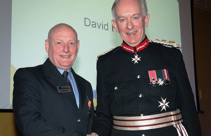 Long Service Good Conduct 2014-15 - Fireman David Hibbert