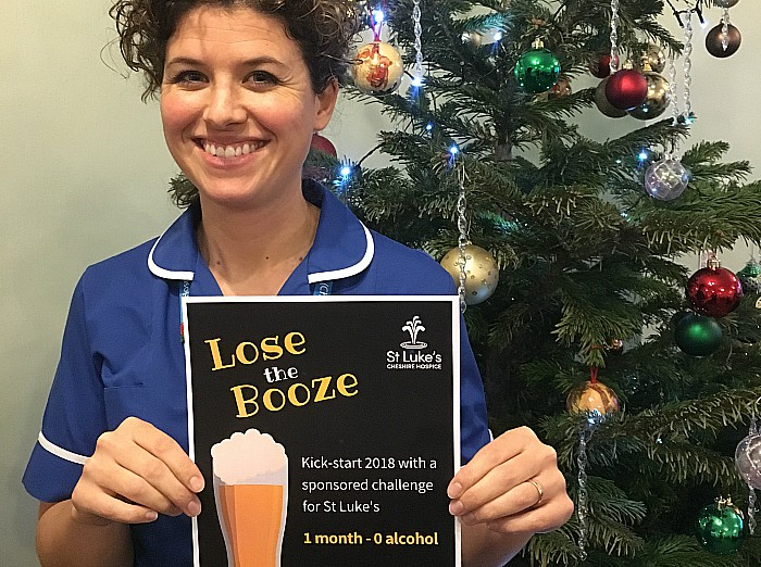 Lose the Booze, St Luke's Hospice