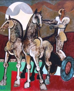 Lot389_Geoffrey_Key_Horses_and_Chariot_£10000-15000-246x300