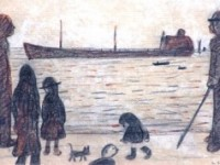 Buyer snaps up LS Lowry painting for £39,000 at Nantwich auction
