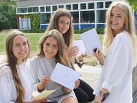 "Brine Leas Sixth Form students celebrate ""impressive"" A Level results"