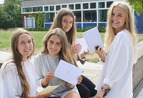 """Brine Leas Sixth Form students celebrate """"impressive"""" A Level results"""