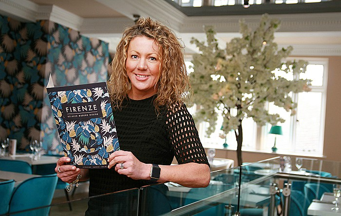 Louise Bastow in new-look Firenze bar and restaurant