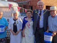 Wistaston Rose Queen to run table top sale for Cancer Research