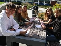 Brine Leas students in Nantwich celebrate GSCE results