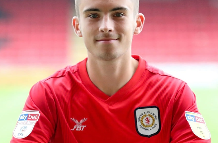 Luke Offord - Crewe Alex loan signing for Nantwich Town
