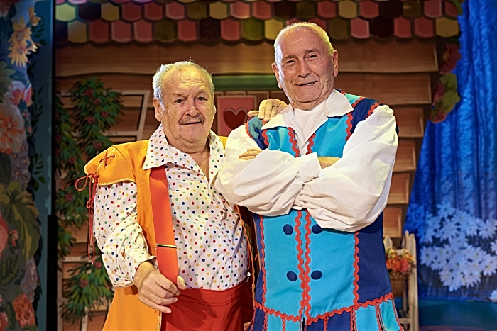 Lyceum panto Cannon and ball
