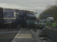 M6 lorry crash sparks delays on major South Cheshire routes