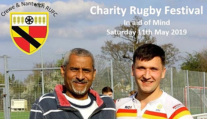 MIND rugby festival crewe and nantwich