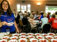 Strawberry event in Nantwich raises £1,600 for MND Association