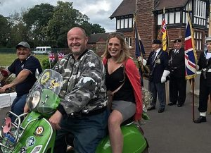 MP Laura Smith at Crewe Armed forces day