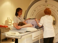 Leighton Hospital bosses unveil new MRI scanner