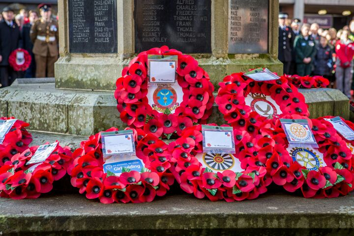 Armistice centenary in Nantwich 10