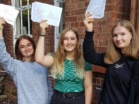 Students at Malbank Sixth Form in Nantwich celebrate A levels success