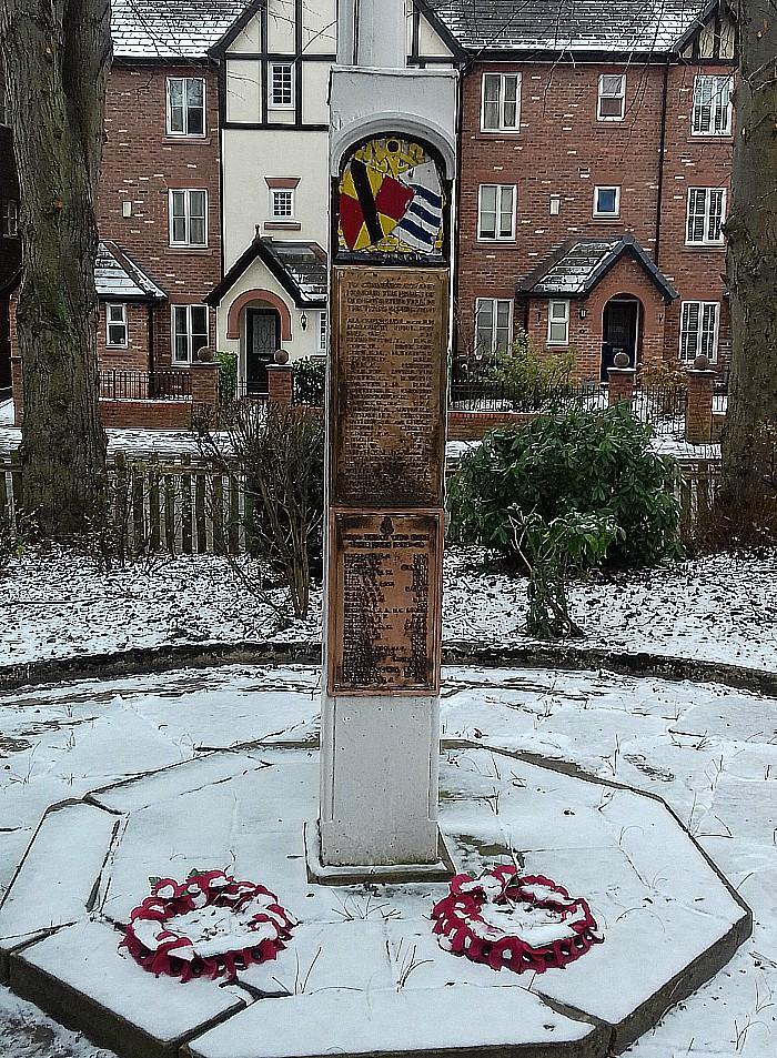 Malbank School World War One war memorial