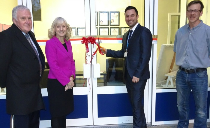 Malbank Sixth Form new entrance unveiled