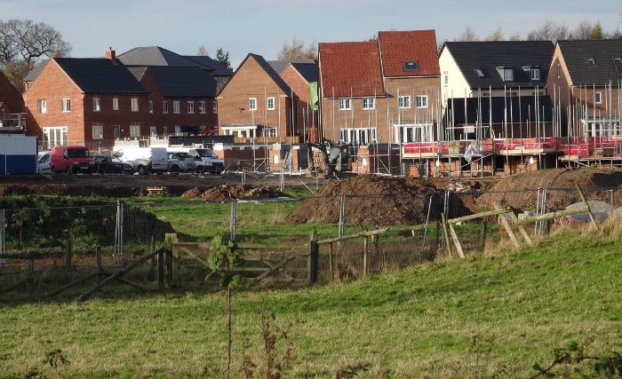 Malbank Waters housing development, Nantwich