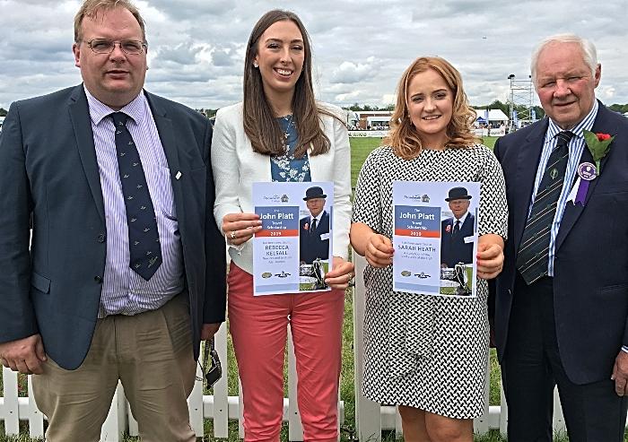 young farmers - Marcus Clinton, Rebecca Kelsall, Sarah Heath, Tony Garnett (1)