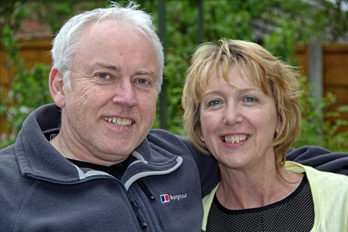 Margaret and Rory Sanders - foster carers