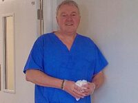 Soap script writer volunteers as Leighton Hospital cleaner during coronavirus