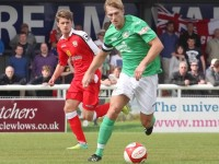 Nantwich Town captain Mark Jones enjoys defensive switch