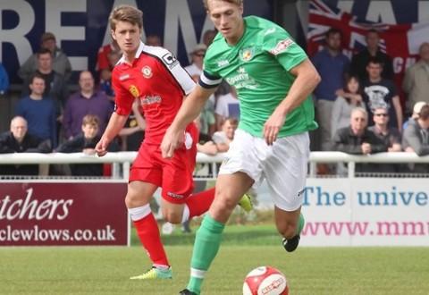 Nantwich Town captain Mark Jones enjoys defensive switch