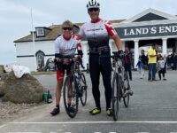 Assistant Principal at Cheshire College completes charity cycle challenge