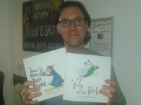 Nantwich IT worker turns children's author thanks to local coffee shop