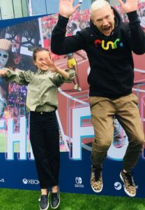 Marley and Iwan at TeamGB