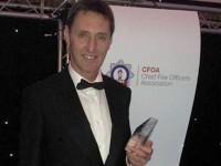 "Tarporley fireman honoured as UK's ""road safety champion"""