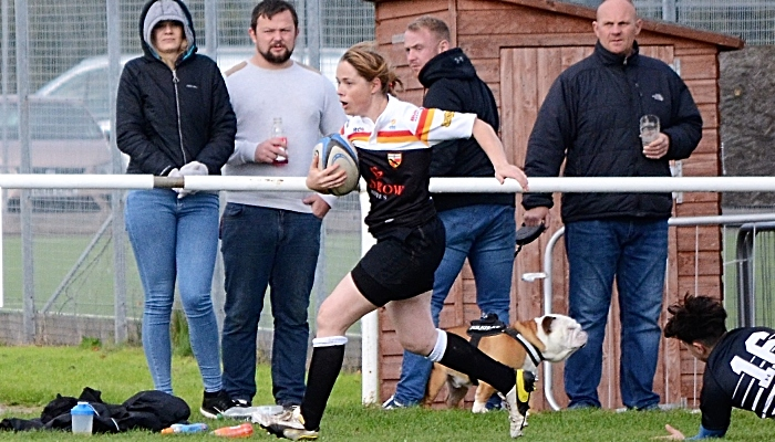 Mary Shepperson against Broughton Park