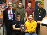 Young Brine Leas mathematicians scoop Keele Shield