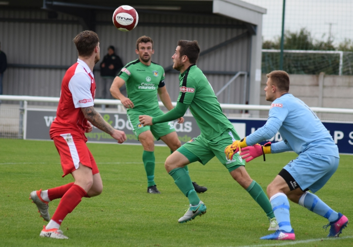 Matt Bell eyes the ball