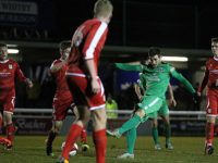 Matt Bell extra-time winner earns Nantwich Town cup victory over Crewe Alex