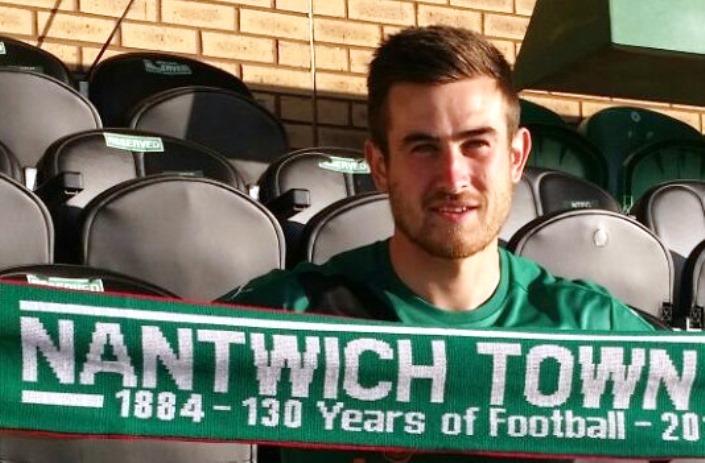 Matt Bell, new Nantwich Town signing