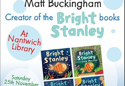 Acclaimed children's author Matt Buckingham to visit Nantwich Library