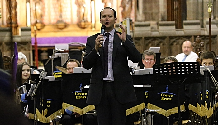Matt Pithers from Crewe Brass was Musical Director (1)
